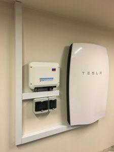 SMA/Tesla Solar battery system