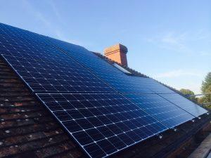 LG solar panels sydney